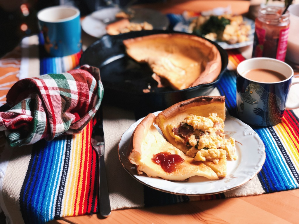 Impressive but easy dutch baby recipe, perfect sweet or savory
