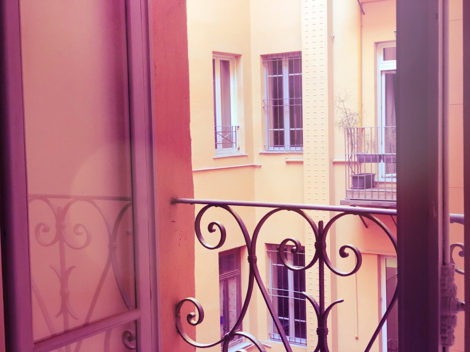 Balcony in Princeps Boutique Hotel Rome Italy