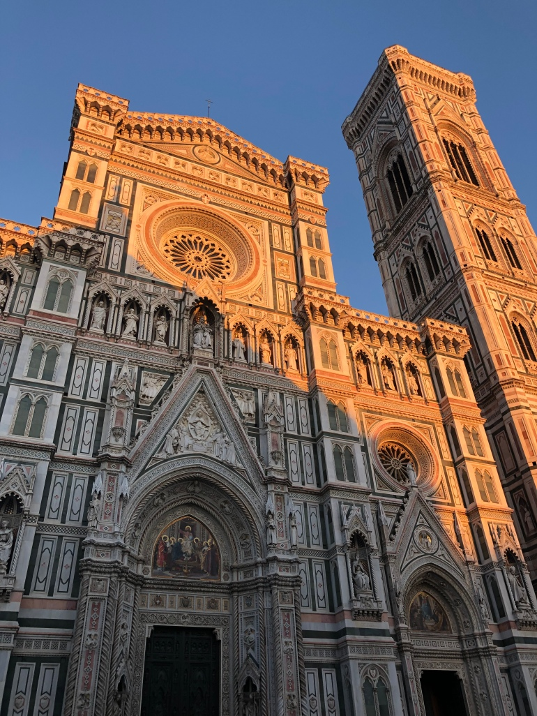 Il Duomo Twilight Florence Italy